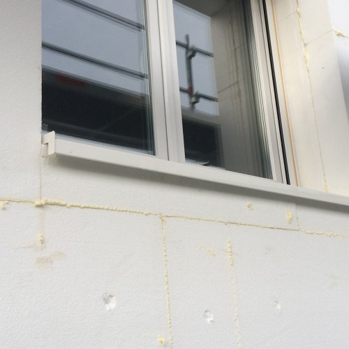 Chantier Isolation de façade